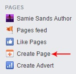 Creating an facebook author page